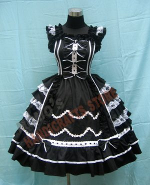 Готика лолита платья