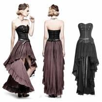 платье с корсетом стимпанк