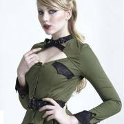 блузка милитари