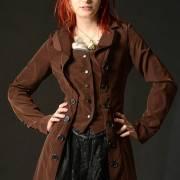 пиджак женский стимпанк