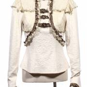 кружевная блузка стимпанк