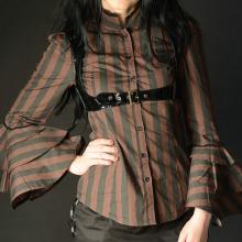 блузка в полоску стимпанк
