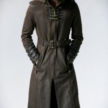 мужское стимпанк пальто