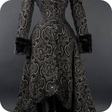 пальто готика