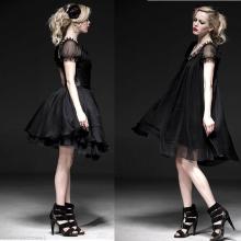готическое платье с корсетом