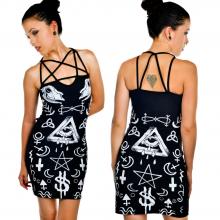 платье готика
