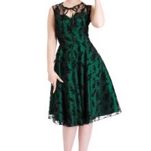винтажное платье с кружевом