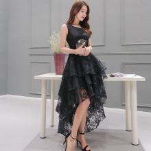Кружевное готическое платье