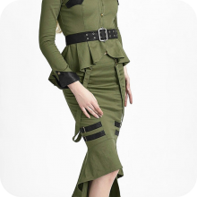 юбка милитари