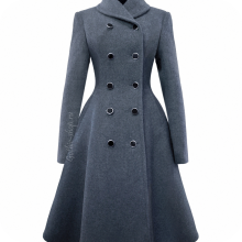 Пальто женское шерстяное