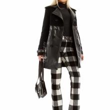 Зимнее женское двубортное пальто
