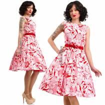 Летнее платье в стиле 50-х