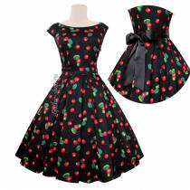 Платье Rockabilly Cherries фото