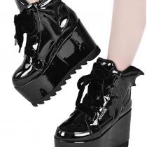 Женские готические ботинки