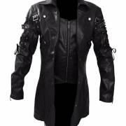 Мужское пальто в стиле Gothic