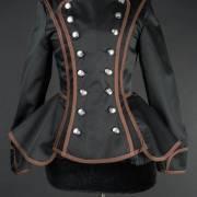 женский пиджак милитари