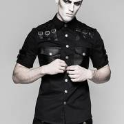 милитари готика рубашка