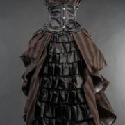 платье викторианское