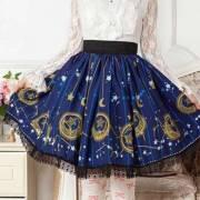 юбка в стиле лолита