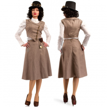 Стимпанк костюм женский