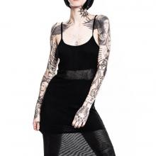 готическое платье