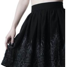 короткая готическая юбка