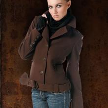 женская милитари куртка