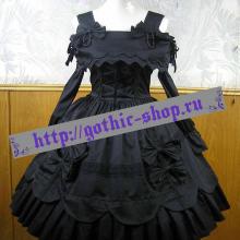 платье готическая лолита