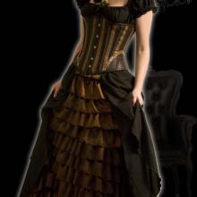 платье стимпанк