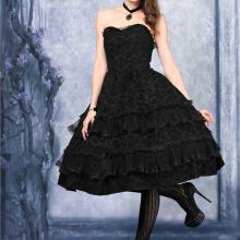 вампирское готическое платье