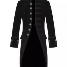 Мужской пиджак в готическом стиле
