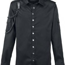 Мужская рубашка в неформальном стиле