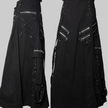 мужская готическая юбка
