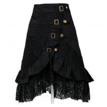 готическая юбка ассиметричная