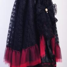 Кружевная многослойная юбка