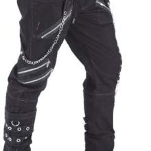 мужские готик штаны