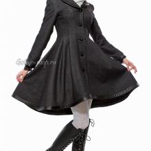 зимнее готическое пальто