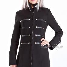 милитари пальто