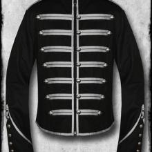 мужской милитари пиджак