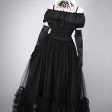 пышная готическая юбка