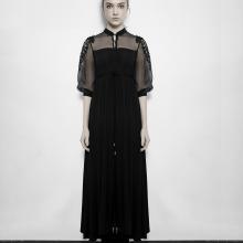 Макси платье в стиле Steampunk/Victorian