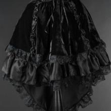 юбка стимпанк готика