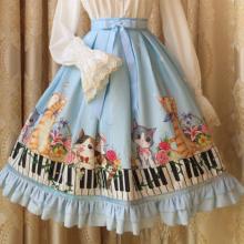 юбка косплей лолита