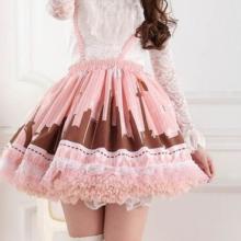 юбка пышная лолита