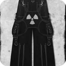мужские готические штаны