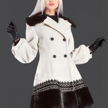 пальто под норку кашемир